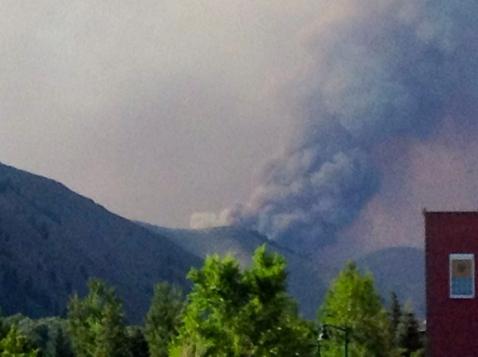 Beaver Creek Fire : August 15