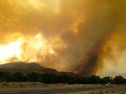 Beaver Creek Fire : August 16