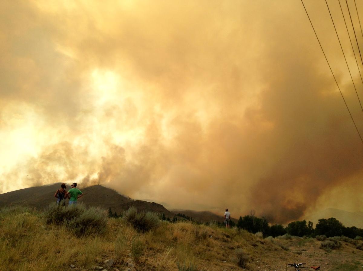 Hailey, ID Fires - 2013