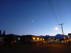 Moon Over Bishop