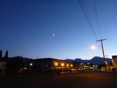 Moon Over Bishop