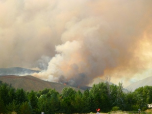 Beaver Creek Fire - Aug 16