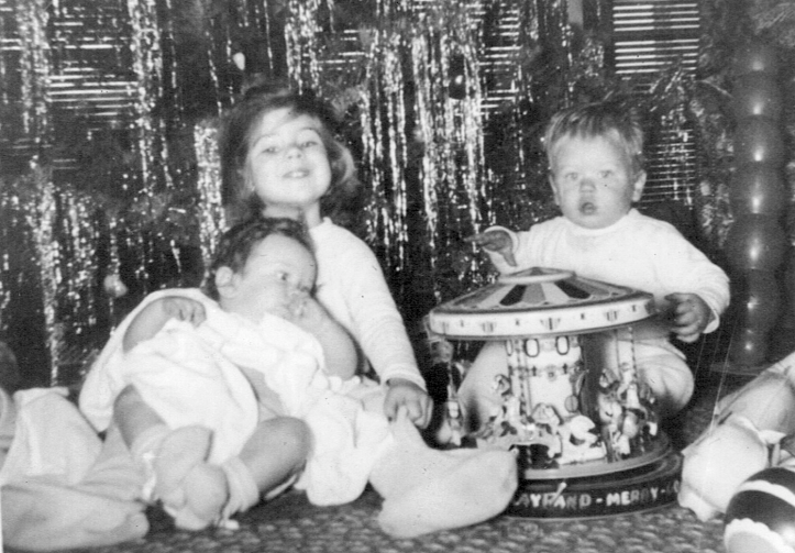 Christmas with my Siblings - 1952