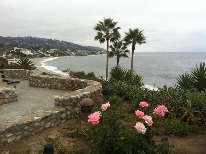 Laguna's Main Beach from Las Brisas