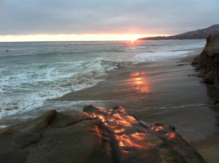 SUNSET, LAGUNA BEACH