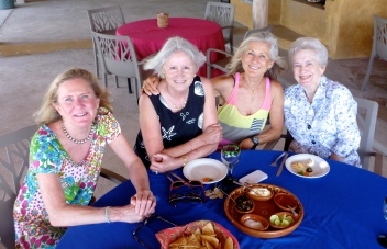 Claudia, Carol, Cathie, Kay - Lunch at Picazone