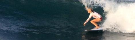 Cooper Surfing Bali